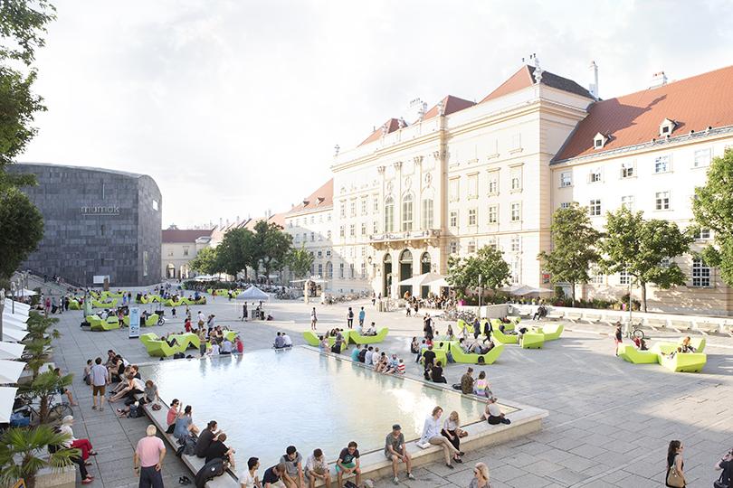 UDO TITZ / ADVERTISING / MUSEUMSQUARTIER / 3