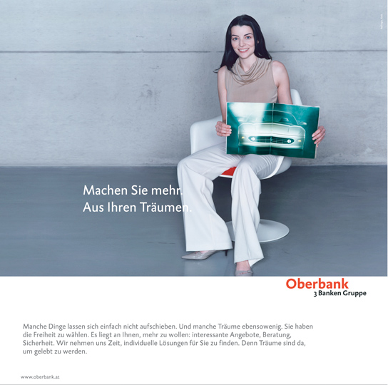 UDO TITZ / ADVERTISING / OBERBANK / 1