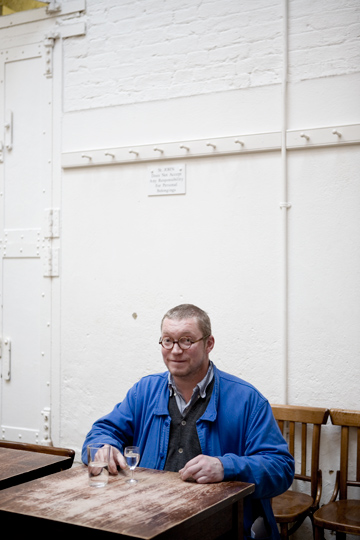 UDO TITZ / PORTRAITS / KLAUS LEMKE CLEMENS WEISSHAAR FERGUS HENDERSON / FERGUS HENDERSON